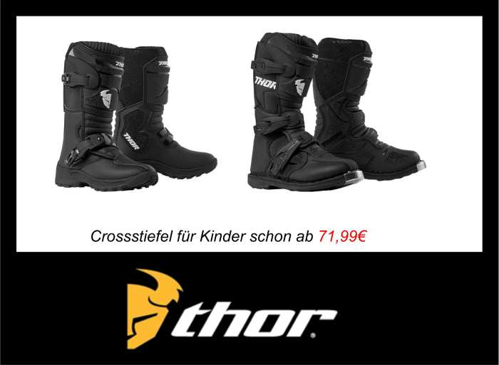 Thor Motocross Stiefel