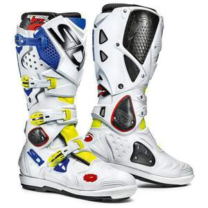 Sidi Crossfire 2 SRS Yellow Fluo-White-Blue