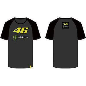 VR46 T-shirt (MOMTS316720) Monster Dual Grey