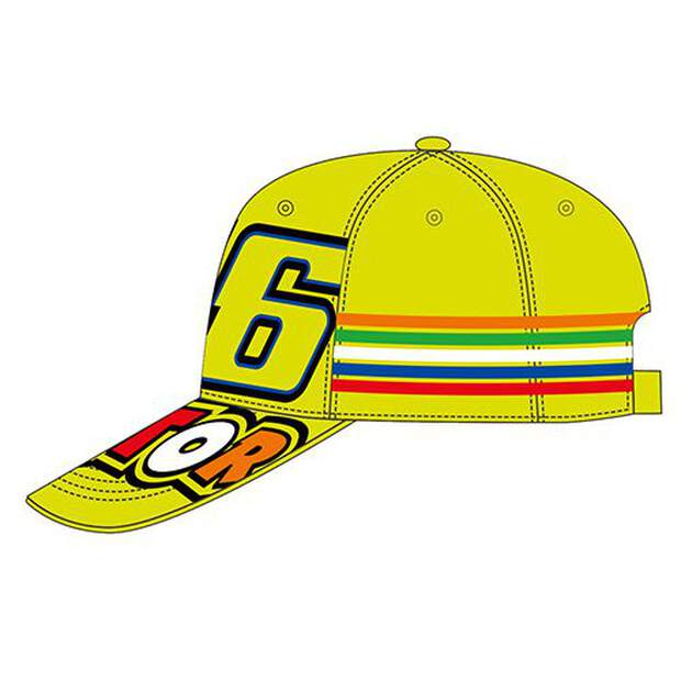 VR46 Cap Kinder (VKCA307728) Stripes Yellow