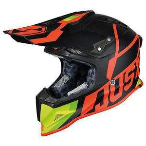 JUST1 Helm J12 Unit Red-Lime