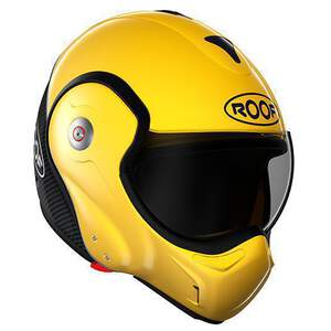 ROOF Helm Boxxer Carbon-Yellow