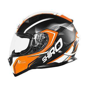 Shiro HelmH-881otegi Black-Orange