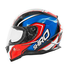 Shiro HelmH-881otegi Red-Blue