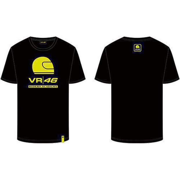 VR46 (RAMTS318004NF) T-Shirt Rossi Corporate Black