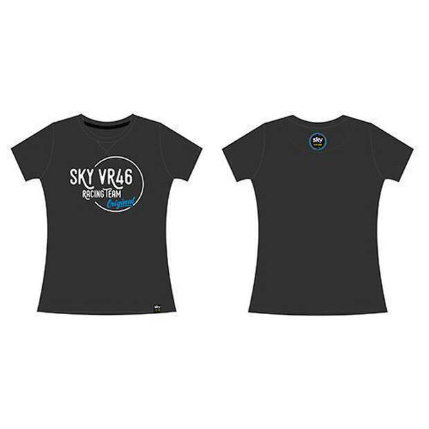 VR46 (SKWTS287220) T-shirt Lady Sky Ongoing Grey