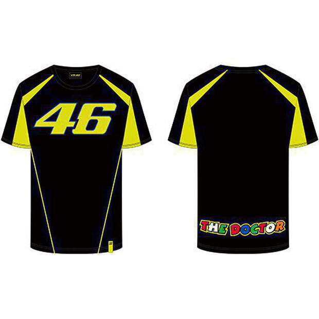 VR46 T-Shirt (VRMTS306004) Race Black