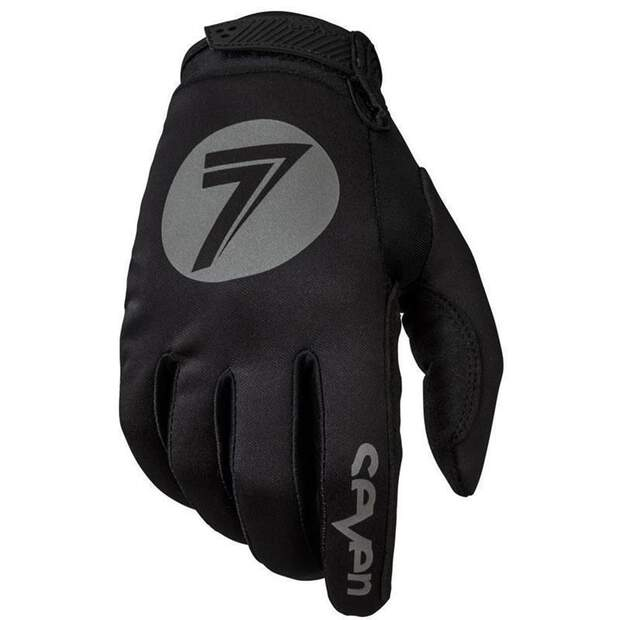 Seven Handschuhe Zero Cold Weather black