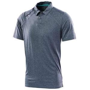 Seven Polo Shirt Command charcoal heather