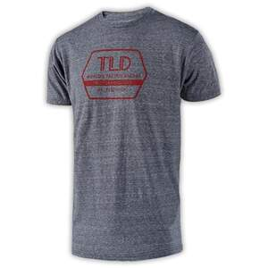 TLD Factory T-Shirt Vintage Gray Snow