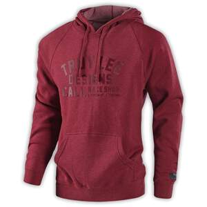 TLD Podium Pullover; Heather Crimson