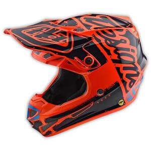 TLD Se4 Youth Helm (Pa); Factory Orange