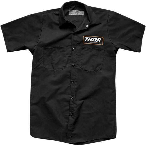Thor Arbeitsshirt Shirt S9 Work Black