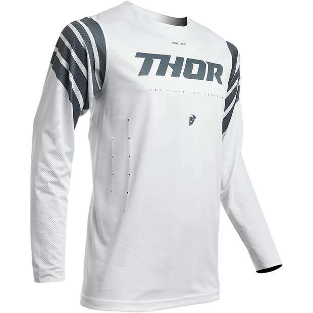 Thor Jersey Pro Str Wh/Sl