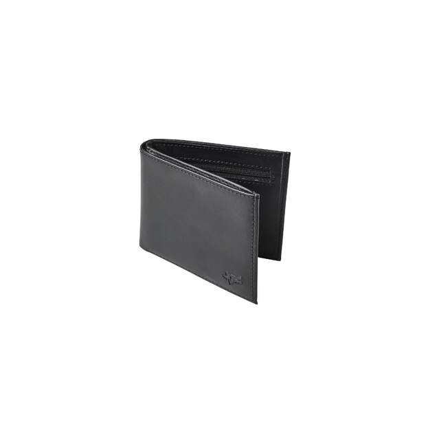 Fox Bifold Leather Geldbörse [Blk]