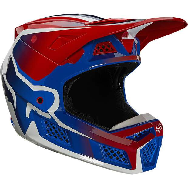 Fox V3 Rs Wired Helm Ece [Flm Rd]