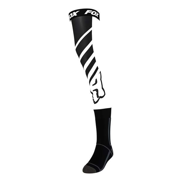 Fox Mach One Knee Brace Socken [Blk/Wht]
