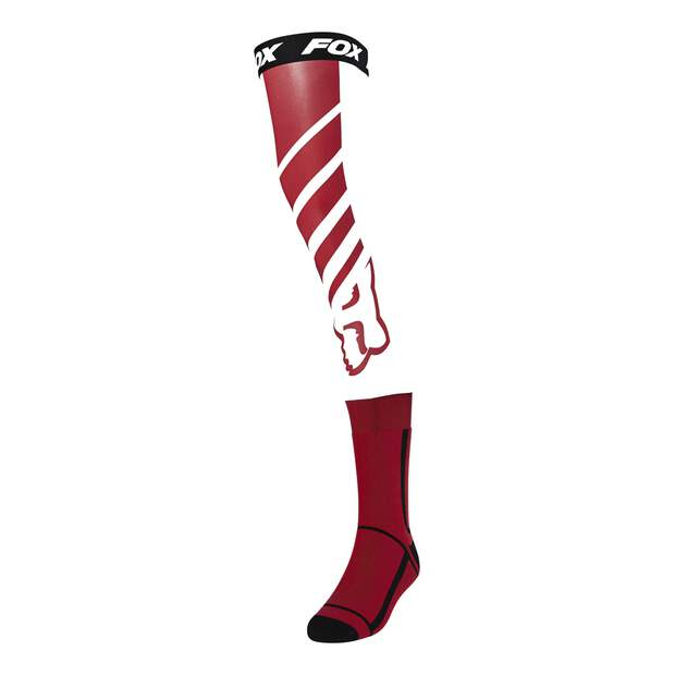 Fox Mach One Knee Brace Socken [Flm Rd]