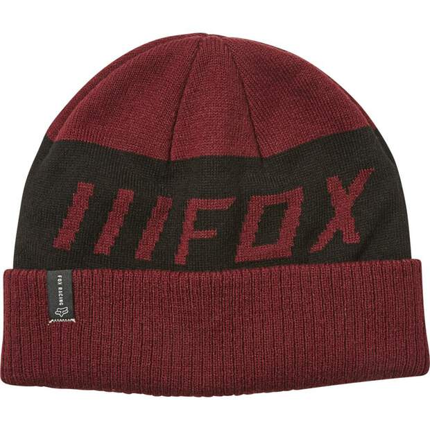 Fox Down Shift Beanie [Crnbry]