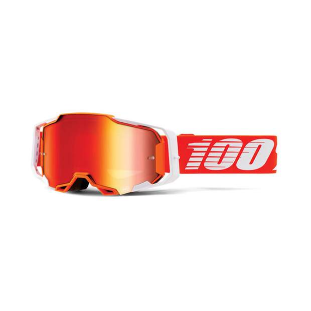 100% Armega Goggle Regal - Mirror Red
