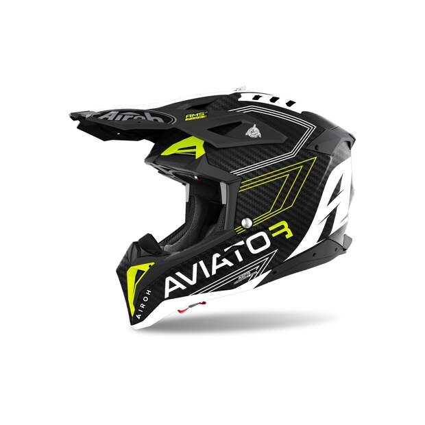 Airoh Aviator 3 Primal Yellow Matt