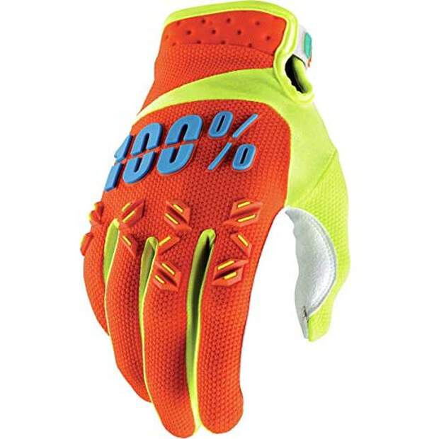 100% Airmatic Handschuhe Orange