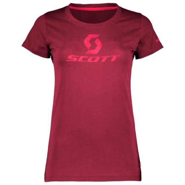 Scott T-Shirt Damen 10 Icon S-SL - mahogany red
