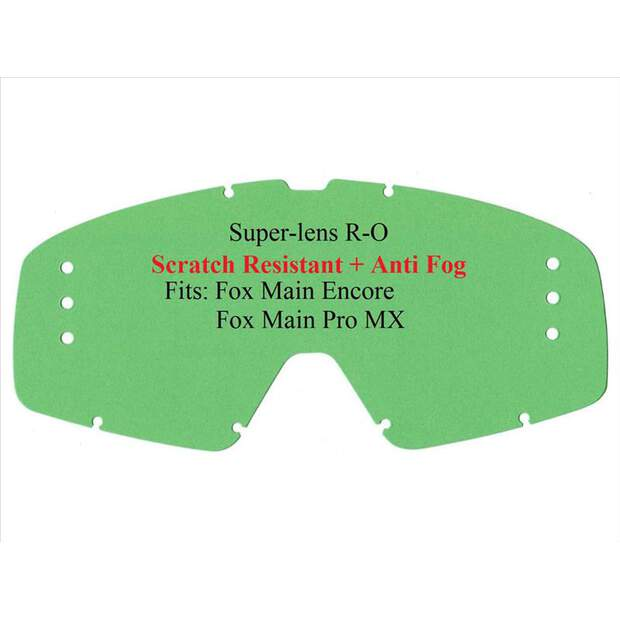 Fox Ersatzglas Main Pro / Encore Roll Off Klar...