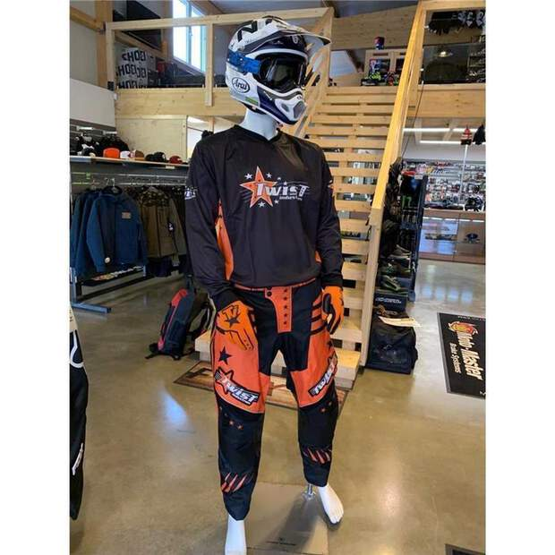 Twist Industries Crossshirt Orange