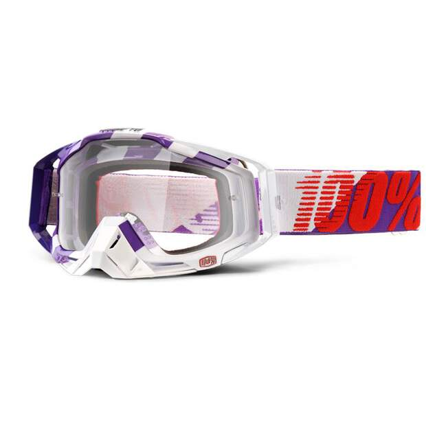 100% Mx Brille Racecraft Pur Main Klar