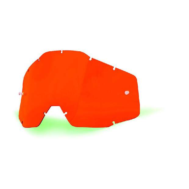 100% Ersatzglas Racecraft & Mx Brille Accuri Orange