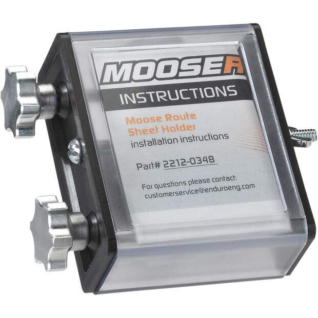 Moose Racing HOLDER ROUTE SHEET SIDE 14-053
