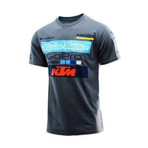TLD troy lee designs T-Shirt Team KTM Go Pro Grau