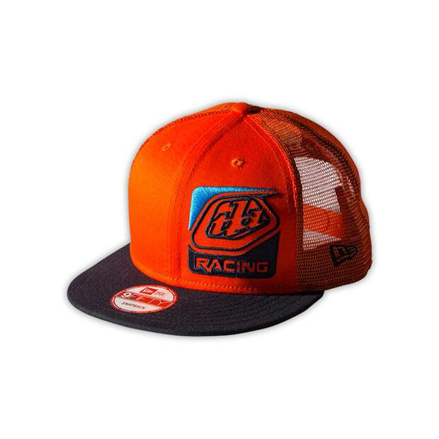 TLD troy lee designs Cap Perfection 2.0 Trucker Orange/Navy