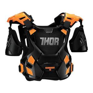 Thor Brustpanzer Guardian Schwarz/Orange