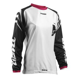 Thor Shirt Frauen SECTOR WH/BK