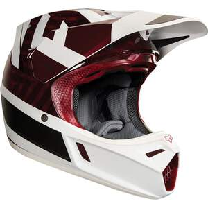 Fox Helm V3 Preest Dark Red