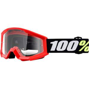 100% Kinder MX Brille Strata MINI RD/CL