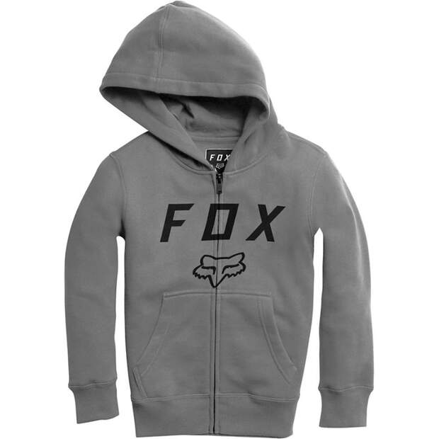 Fox Hoodies, Pullover Kinder Legacy Moth Zip [Htr Graph]