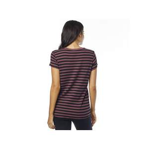 Fox Top Striped Out Ss Crew