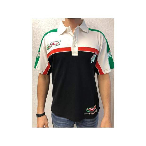 Castrol Fleece Poloshirt