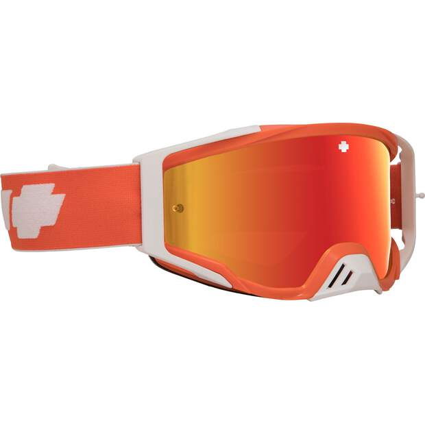 SPY OPTIC Brille Found.Plus Classic Orange HD smoke/rot spet