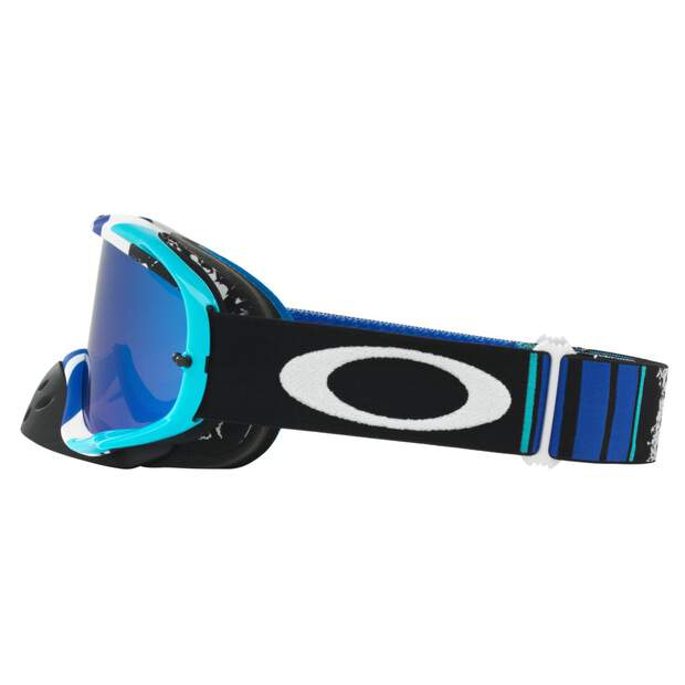 Oakley Crowbar MX Brille blau